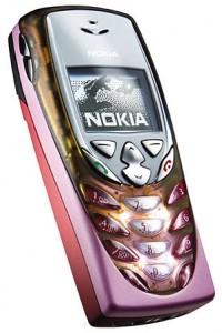 The old Nokia 8310.