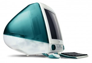 An old Mac from 2001.