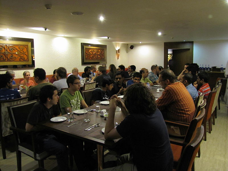 Hacking Becomes 'Respectable' with a Dinner in Mumbai, 2011!