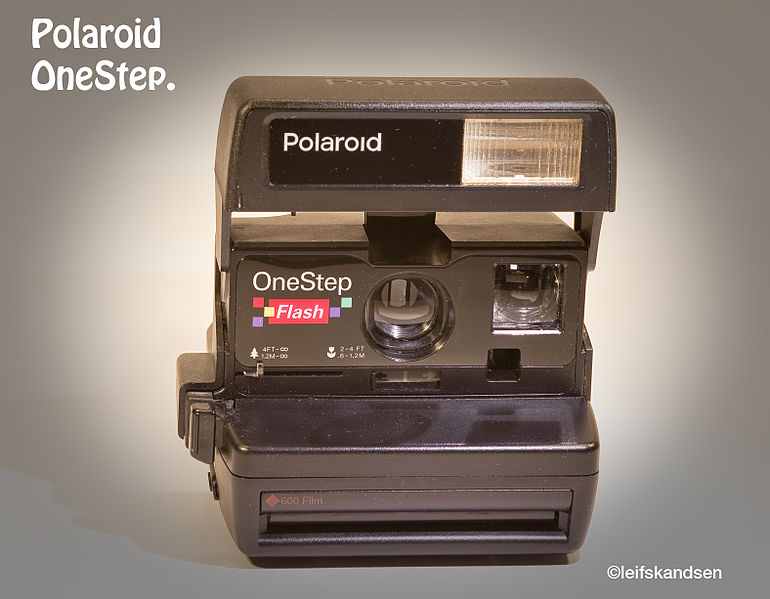 The Polaroid Is to Make a Digital Return 