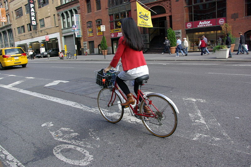 People who cycle to work are fitter and healthier?