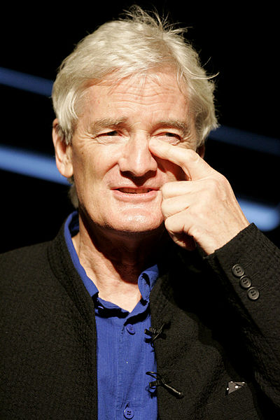 Sir James Dyson: vacuums, hand washers and now robots?