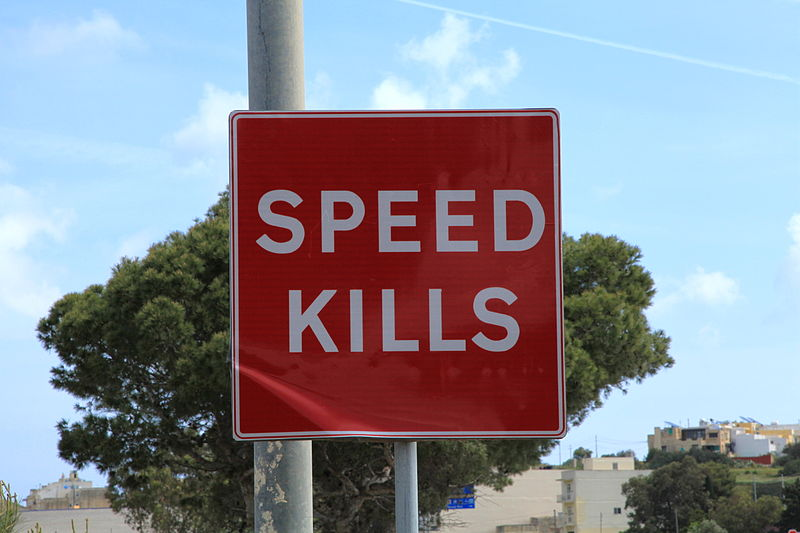 Speed kills the interest in film, TV, drama and reflective creation