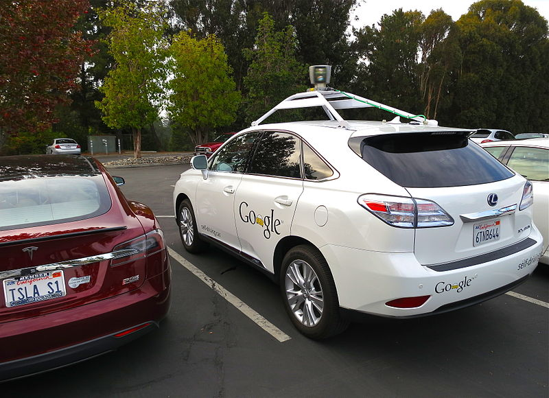 Google's automated, self-driving car